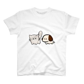 わんにゃん T-shirts