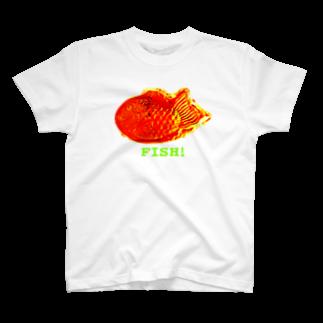猫山アイス洋品店のFISH! T-shirts