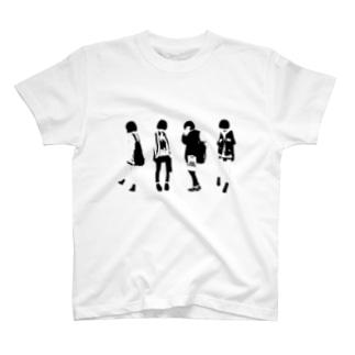 ボブっ子 T-shirts