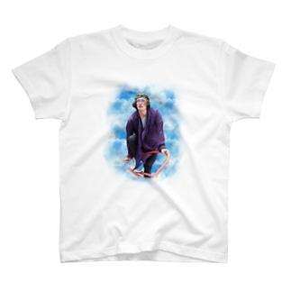 すずき(Sky柄) T-shirts