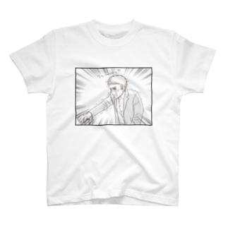 ハヤえもん開発者の男泣き Tシャツ