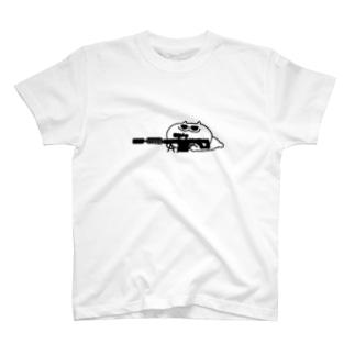 スナイパー猫 T-shirts