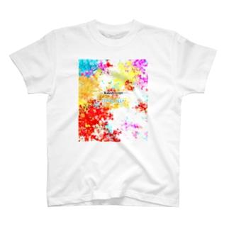 -kaleidoscope-CORAL REFF Tシャツ