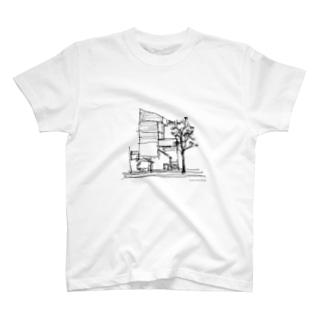 塔の家/東孝光 T-shirts