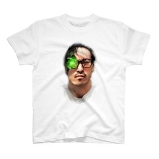 すずき(アンドロイド柄) T-shirts