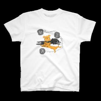iccaの蘭丸・寧々・濃 T-shirts