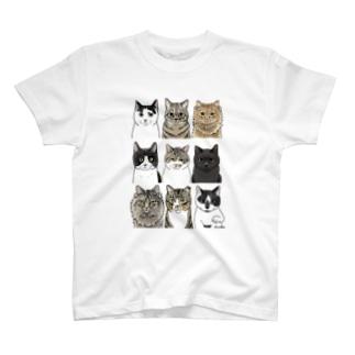 きなこの野良猫1 T-shirts