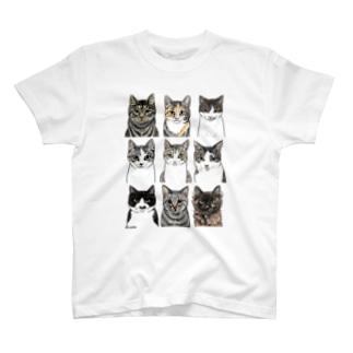 きなこの野良猫2 T-shirts