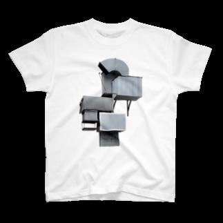 Yusuke SAITOHのすごいダクト Tシャツ