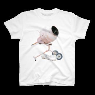 Yusuke SAITOHのセメントまぜるやつ Tシャツ