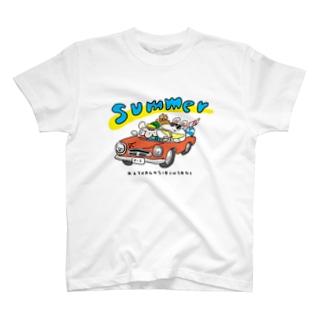 けつあごしりうさぎSUMMER!! T-shirts