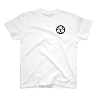 家紋・三つ天竺鼠 T-shirts