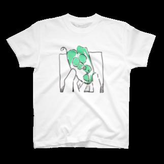 敷島のグリンピースのもと Tシャツ