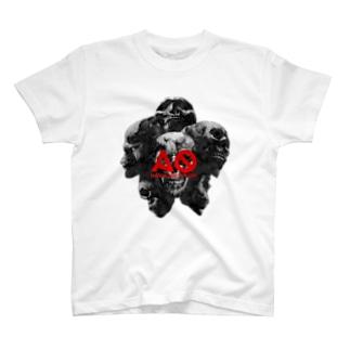 AO HARD CORE SYSTEM T-shirts