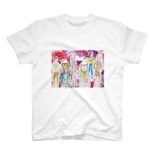 fashion_lady T-shirts