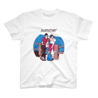 じゃ、夏なんで T-shirts