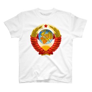 ソ連 国章 T-shirts