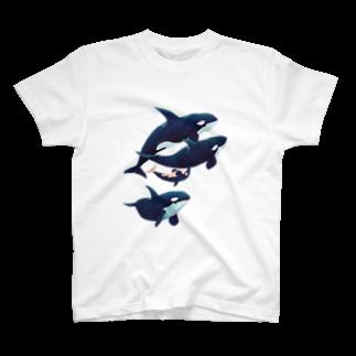 gomaphのシャチ群れ T-shirts