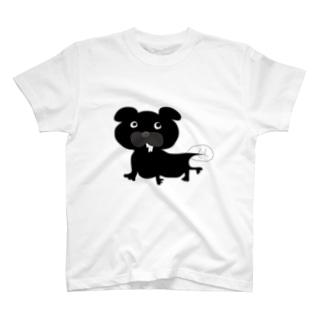 うなぎパグ T-shirts