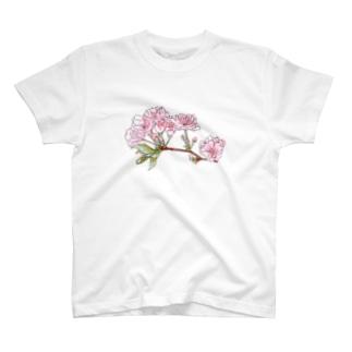 さくら、きらきら T-shirts
