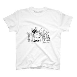 たけのこ農家おばけ T-shirts