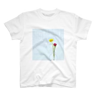 冬に買った花 T-shirts