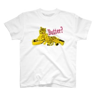 バター Tシャツ