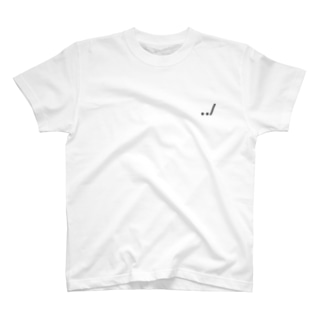 ドットドットスラッシュ T-shirts