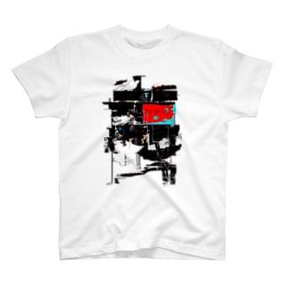 moscowのグリッチTシャツ2 T-shirts