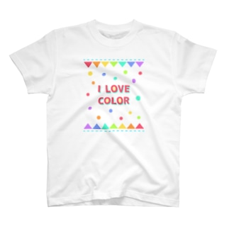 【I LOVE COLOR】 T-shirts