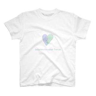 分子間力ハート T-shirts