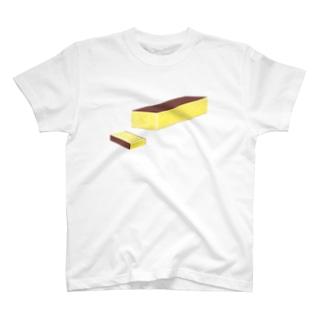 カステラ B T-shirts