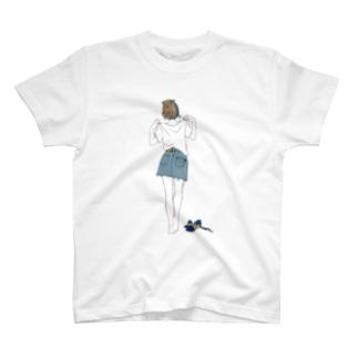 Tシャツ(青) T-shirts