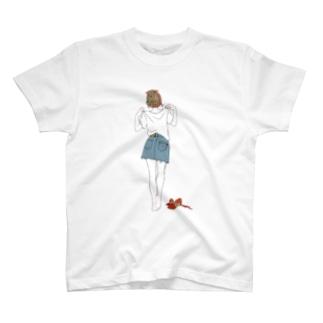 Tシャツ(赤) T-shirts