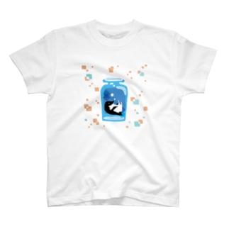ペンギンの瓶詰めA T-shirts