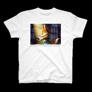 パピルスのA fairytale book T-shirts