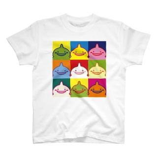 しまばらん(カラフル) T-shirts
