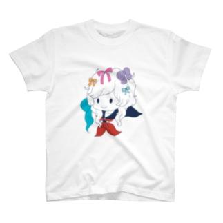 WGS(セーラー服とリボン) T-shirts