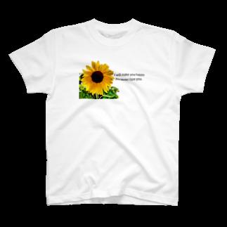 おーえのっくの向日葵 T-shirts