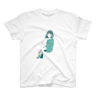 KIYONO(theNIMITZ)のサブカル女子 T-shirts