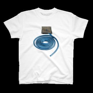Yusuke SAITOHのうずまきホース T-shirts