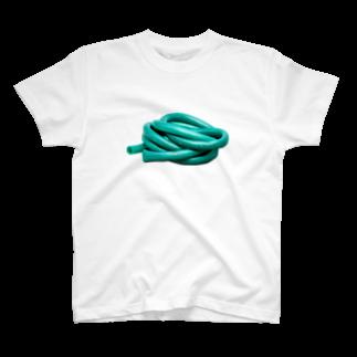 Yusuke Saitohのぐるぐるホース T-shirts