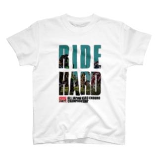 G-NET OFFICIAL GOODS RIDE HARD START 淡色用 T-shirts