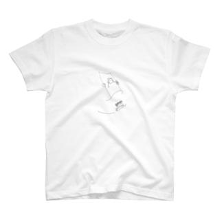 sue.のブランコガール T-shirts