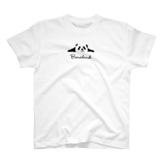 Banaland-パンダ T-shirts