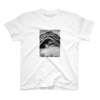 ちょこっとしか見えてない T-shirts