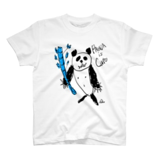 パンダ T-shirts