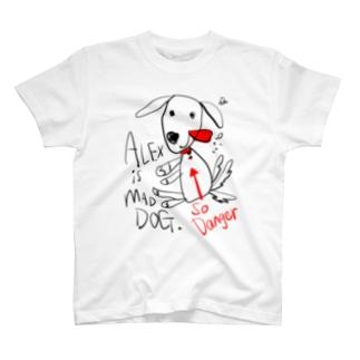 アレックス(いぬ) T-shirts