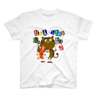 にゃせばにゃるニャンコ T-shirts