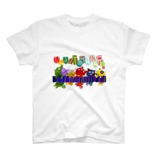 ニャンとかにゃるニャンコ T-shirts